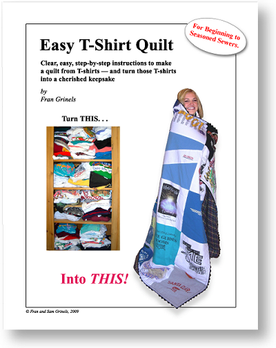 Easy T-Shirt Quilts